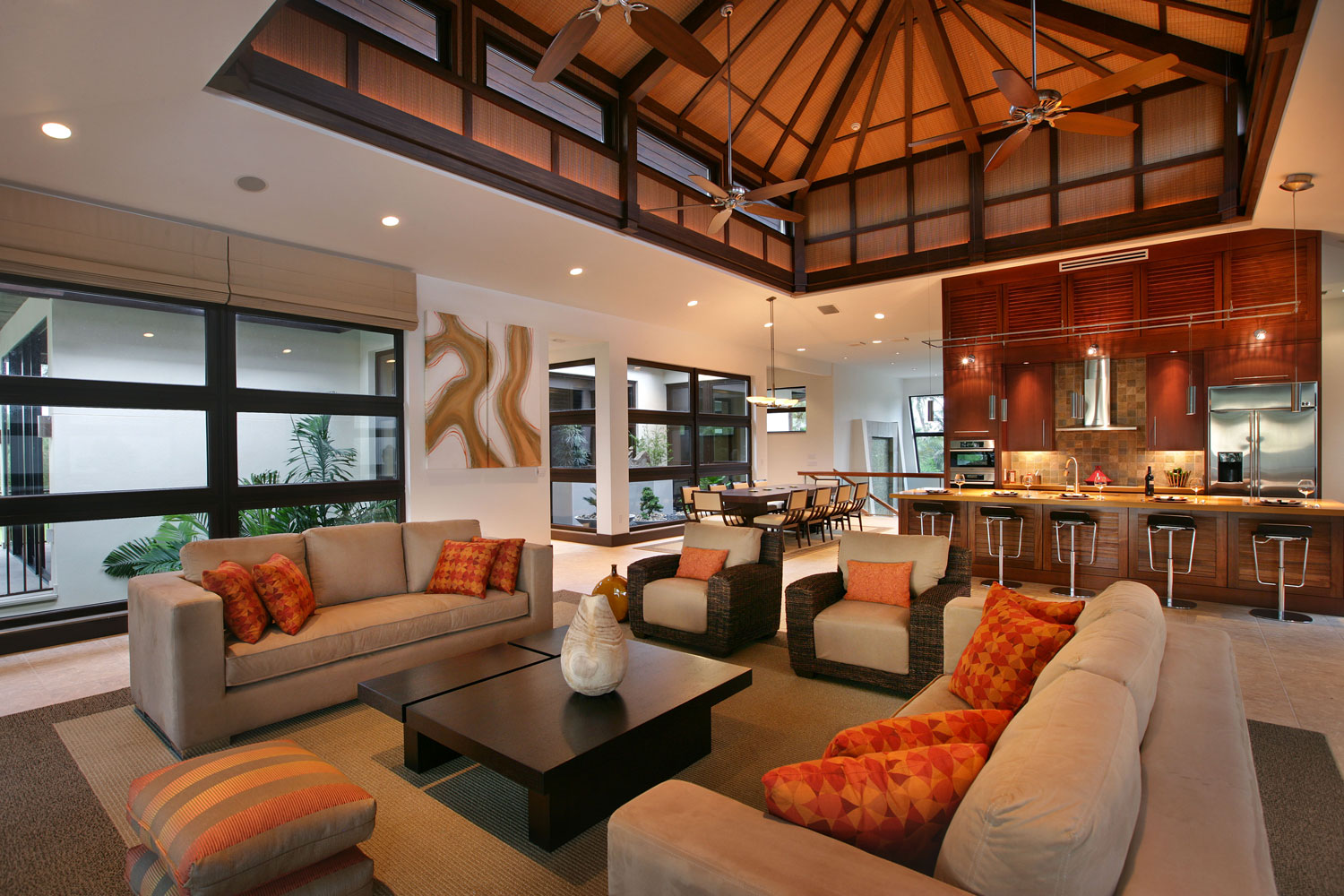custom residential home interior