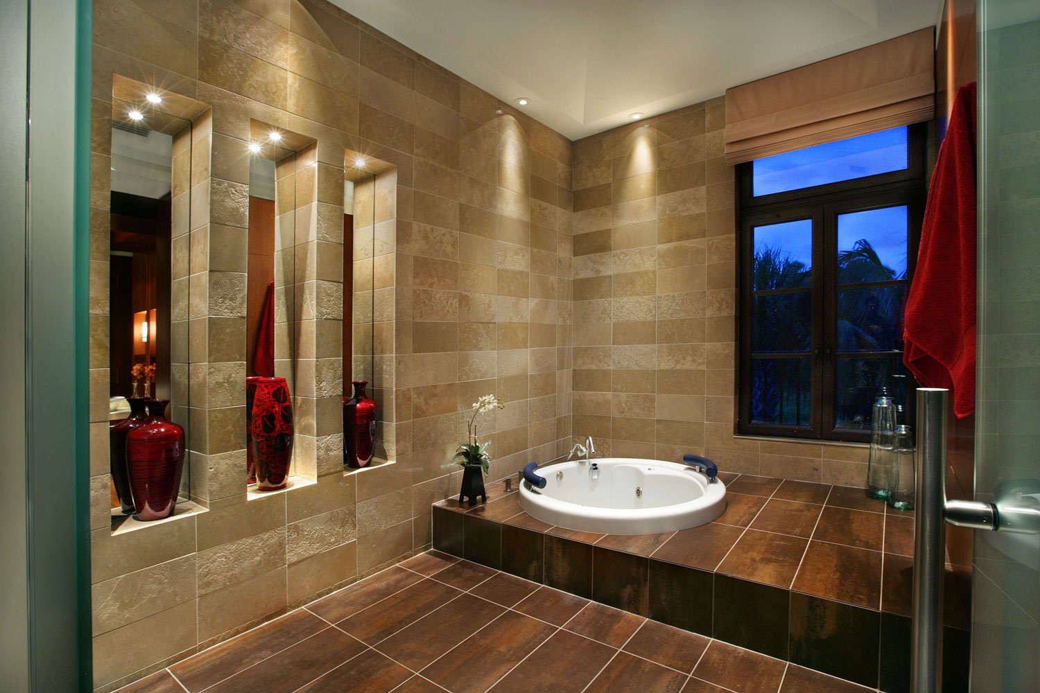 custom residential home interior bath